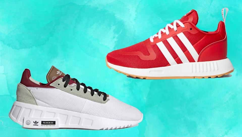 Get a new pair of Adidas sneakers for 30% off.