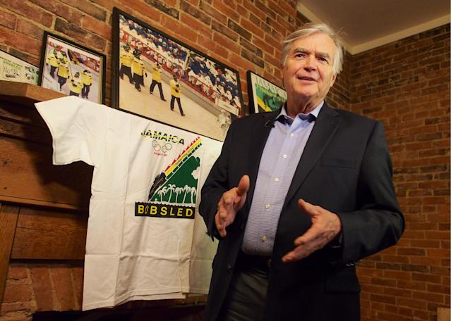 <p>George Fitch, currently the mayor of the small northern Virginia town of Warrenton, helped found the first bobsled team from Jamaica when he served as the Commercial Attache at the American embassy in Kingston, Jamaica in the 1980s. He learned of sprinters preparing for the upcoming summer olympics, and thought they would be perfect to compete in the bobsled at the Calgary Olympics — something a team from Jamaica has never done before. Fitch funded the team himself, and helped them throughout the qualifying process for the 1988 games. (Getty Images) </p>