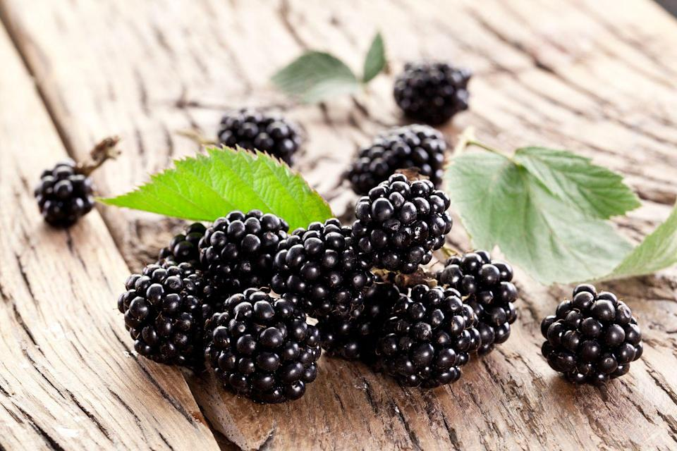 <p>Because of their antioxidant content, all berries are a great choice for diabetics, but tart and juicy blackberries have more than double the fiber content of their more popular cousin, the strawberry. </p><p><em>1 serving = 1 cup berries</em></p>