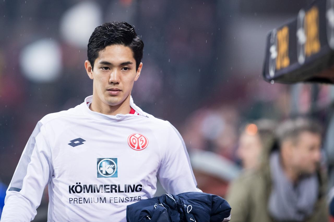 <p>With only two international goals under his name so far, the 25-year-old forward remained an unused substitute during Japan's win over Colombia. Muto scored a match-winning goal for his German club FSV Mainz 05 back in May, ensuring that the club did not drop out of Germany football's top flight. (PHOTO: Getty Images) </p>