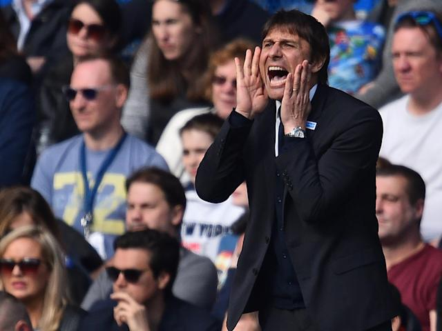 Antonio Conte believed his side deserved at least a point: Getty