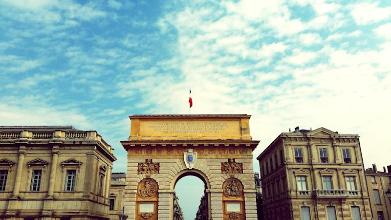 Who needs Paris? Montpellier's Arc de Triomphe - This content is subject to copyright.