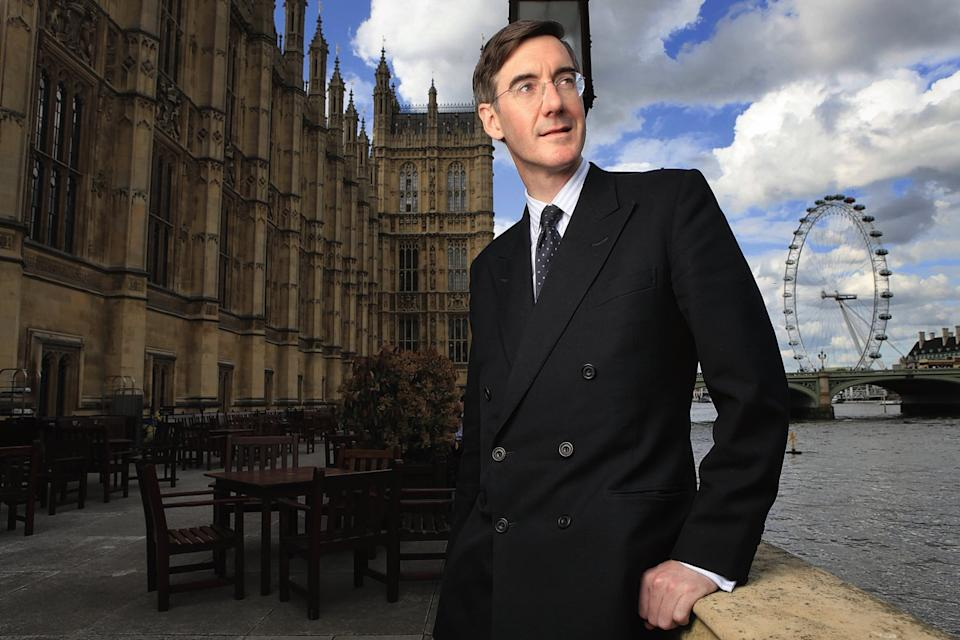 <p>Jacob Rees Mogg thinks fish are happier now</p> ( Rebecca Reid)