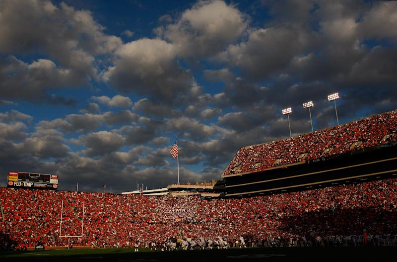 Auburn is looking into allegations that an academic staff member took an exam for a football player. More