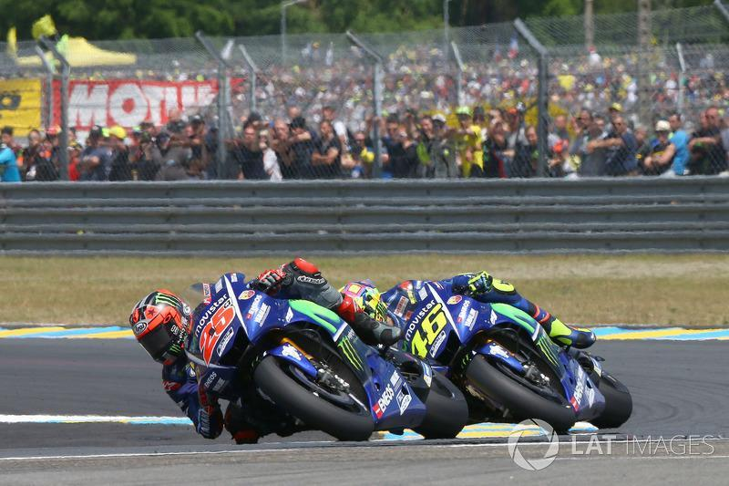 """Le Mans 2017: Yamaha-Duell und Sturz in letzter Runde<span class=""""copyright"""">Gold and Goose / Motorsport Images</span>"""