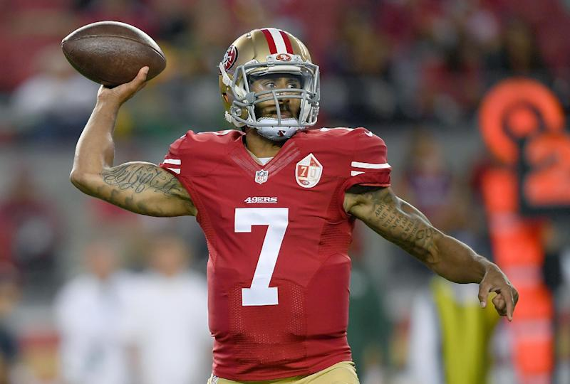 Colin Kaepernick of the San Francisco 49ers has boycotted the Star Spangled Banner to draw attention to the plight of black Americans