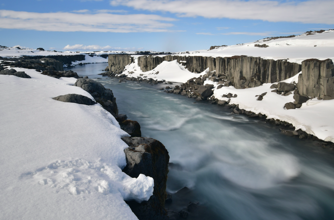 <p>Dettifoss waterfall in Iceland, which was named the third happiest country in the world.<br /> (Picture: Rex) </p>