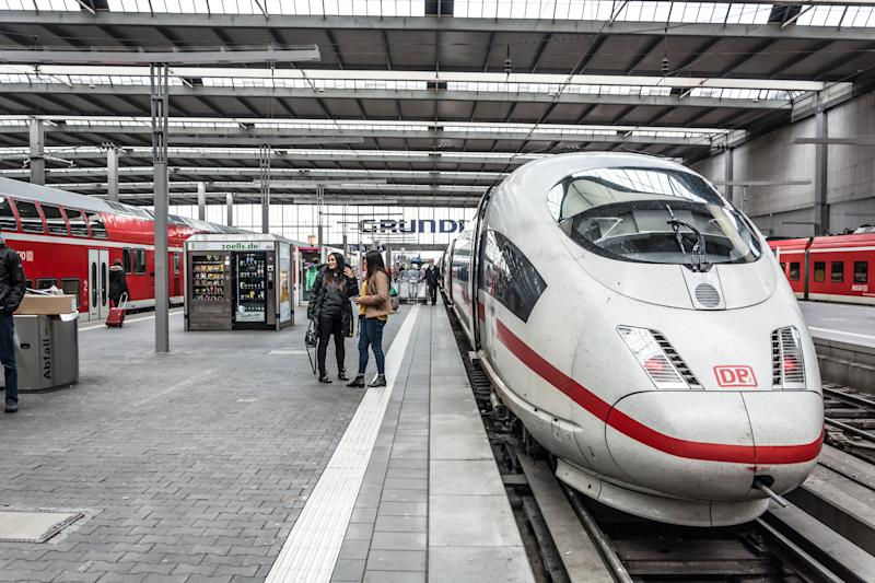 "Germany's state-owned <a href=""https://www.bahn.com/i/view/index.shtml"" target=""_blank"">Deutsche Bahn</a> rail operator is receiving criticism over its decision to name one of its new trains after Anne Frank. (Asergieiev via Getty Images)"