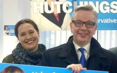 Helen Harrison and Michael Gove - Credit: Twitter