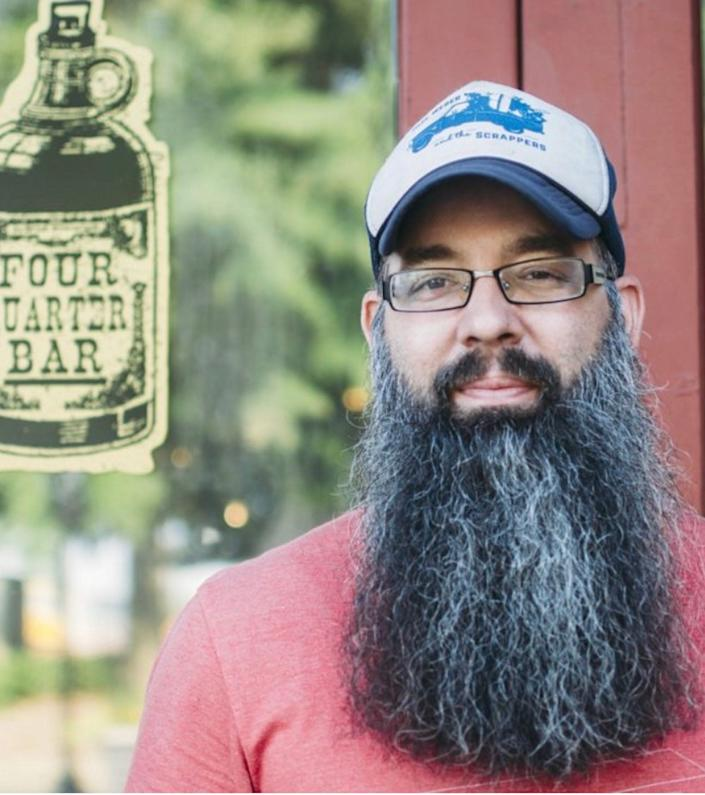 Conan Robinson is the owner of Four Quarter Bar in Little Rock, Arkansas. He has tentative plans to reopen his bar on June 22.