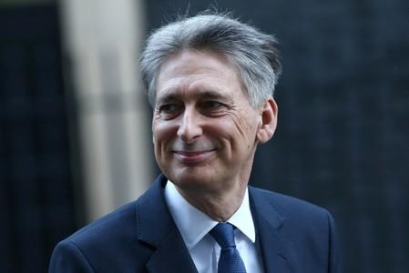 UK's Hammond takes case for digital sales tax to G20 meeting in Japan