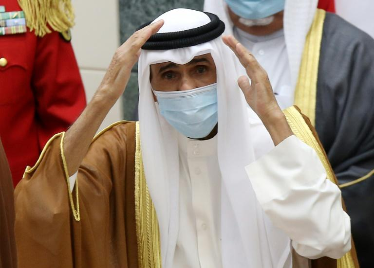 Kuwait's late emir buried after his successor is sworn in