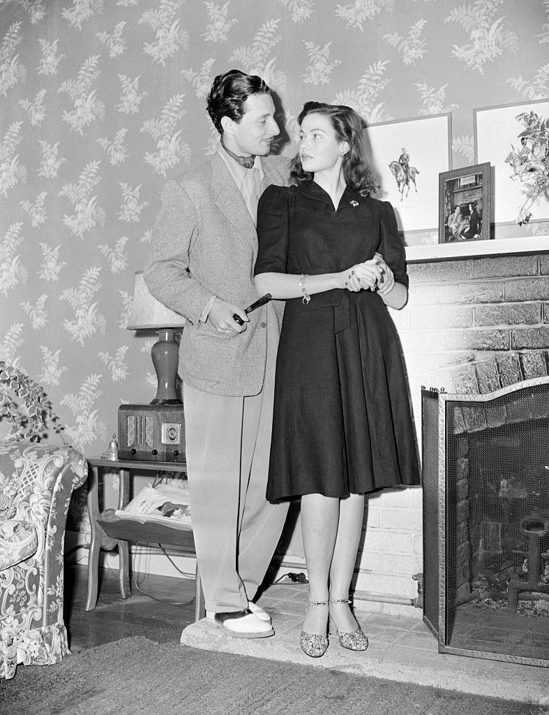 <p>Old Hollywood star Gene Tierney was 20 years old when she eloped with famous costume designer Oleg Cassini in 1941. In 1946, they filed papers to separate, but reconciled before the divorce was finalized. Sadly, it didn't last and they parted ways for good in 1948.</p>