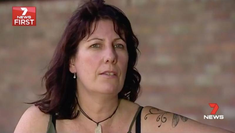 Egan's release from jail is a slap in the face for victim Kellie Roach. Source: 7 News
