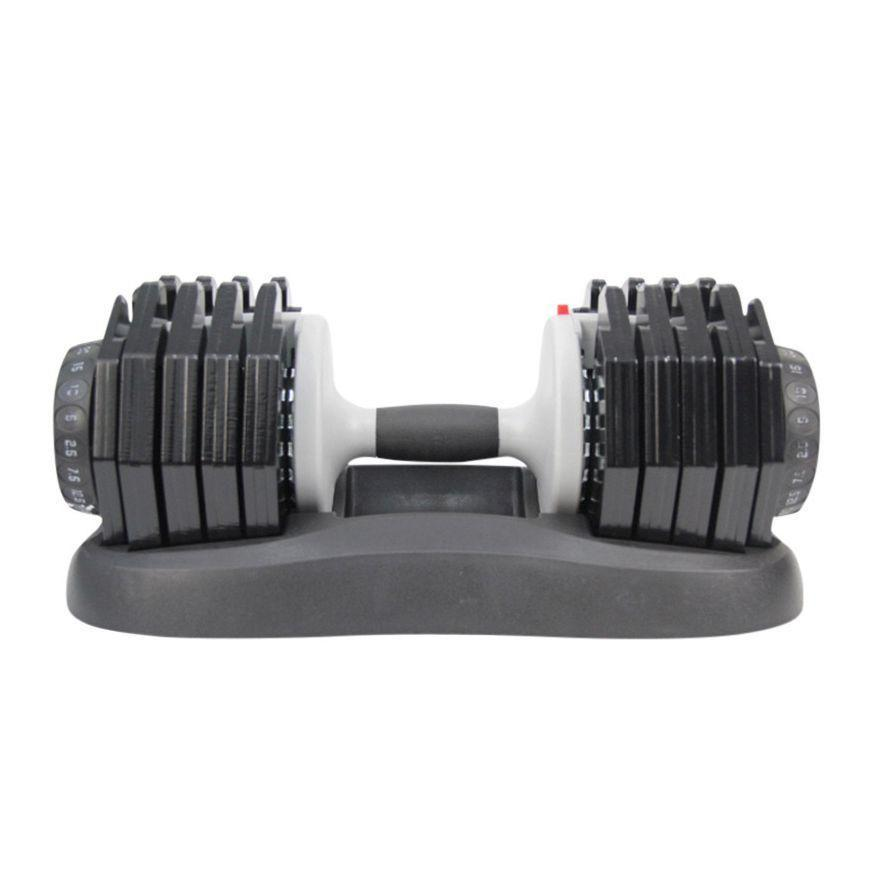 """<p>ativafit.com</p><p><strong>$2.00</strong></p><p><a href=""""https://www.ativafit.com/products/adjustable-dumbbell-55-lbs-weight"""" rel=""""nofollow noopener"""" target=""""_blank"""" data-ylk=""""slk:Shop Now"""" class=""""link rapid-noclick-resp"""">Shop Now</a></p><p>Don't want 20 sets of dumbbells in your home? With this, all you have to do is turn the dial to your preferred weight. It's super simple, and the rubber grip handle makes it comfortable to use.</p>"""