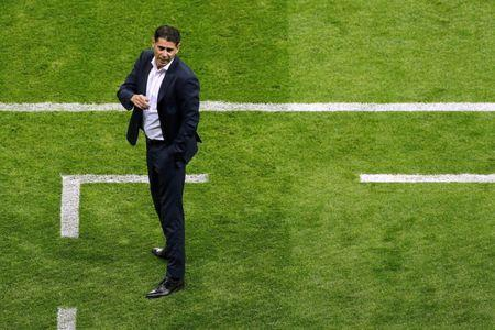 Soccer Football - World Cup - Group B - Iran vs Spain - Kazan Arena, Kazan, Russia - June 20, 2018 Spain coach Fernando Hierro during the match REUTERS/John Sibley