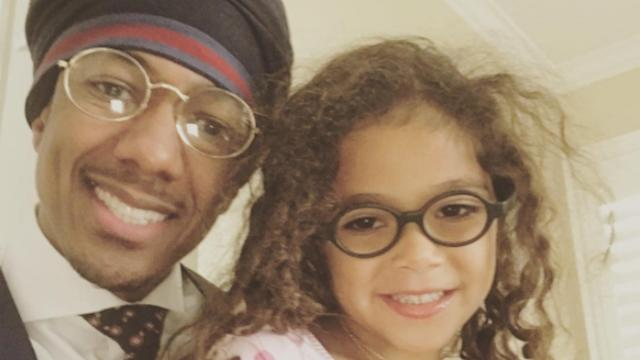 Nick Cannon Shares Photo With Daughter Monroe