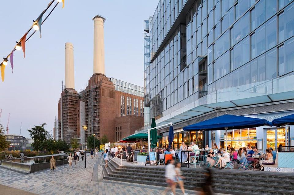 Homes in Battersea Power Station itself are priced from £865,000 (Brendan Bell)