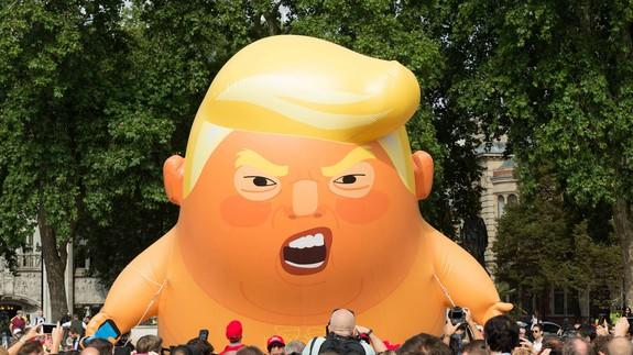 Snarling 'Trump baby' blimp could soon fly in U.S
