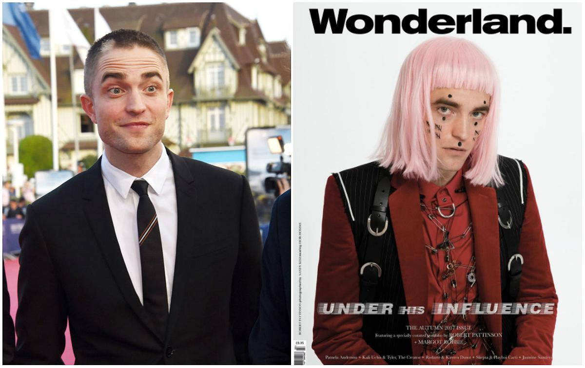 "<p>We're used to seeing Robert Pattinson with a flowing mane of hair, but the 31-year-old recently shook fans by gracing the cover of <a rel=""nofollow"" href=""https://www.instagram.com/p/BZVn9yDnkqv/?taken-by=wonderland""><em>Wonderland</em></a> magazine's Autumn issue wearing a chin-length pink bob wig with short bangs — at least the bedroom eyes remained the same!<br />The actor, who took the lead with the self-directed cover shoot, complemented the wig with hash-mark makeup and vintage velour Dior gear.<br />""I like entering worlds that feel foreign… I loved the idea of highlighting a subculture and magnifying it until it seems almost unrecognizable,"" Patterson said of the shoot.<br />A huge step away from ""Twilight,"" and fans were somewhat divided:<br />""Woww… He has so much guts to do this…. Respect!!!"" One person commented on Instagram. While another questioned: ""WTF happened to Edward?"" — referring to the famous vampire character Pattinson played in ""Twilight.""<br />Another fan summed it up perfectly: ""Even with a ridiculous pink wig he still manages to look this good."" <br /><em>(Photo: Getty/<a rel=""nofollow"" href=""https://www.instagram.com/p/BZVn9yDnkqv/?taken-by=wonderland"">Instagram</a>)</em> </p>"