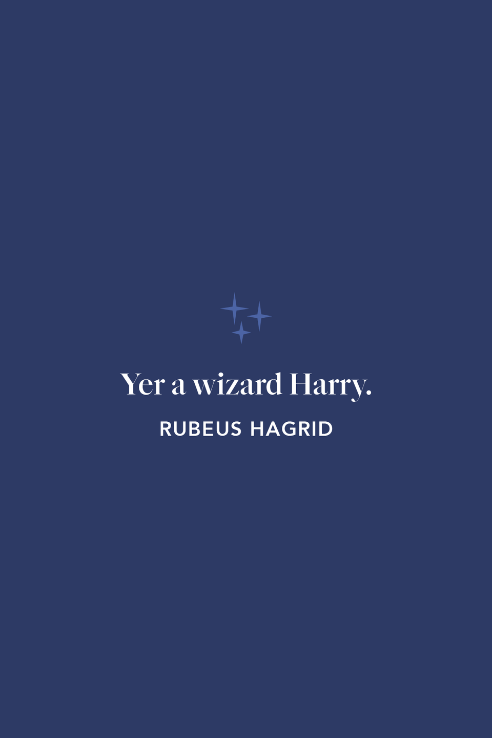 """<p>""""Yer a wizard Harry."""" With these words from Hagrid, Harry's world (and ours) officially changed forever, as he was introduced to the magical world in <em>The Sorcerer's Stone</em>.</p>"""