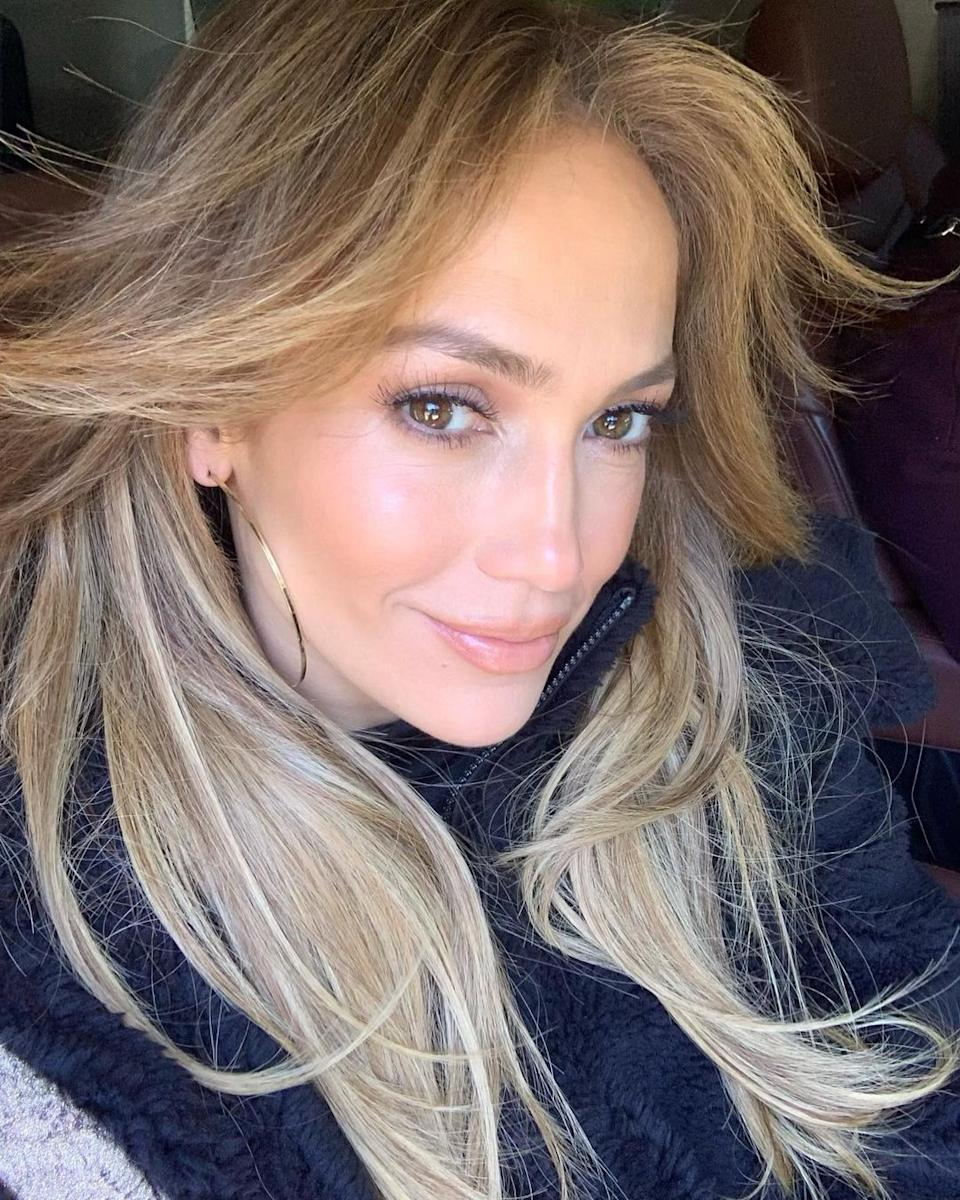 JLo revealed her best skin tip was to use sunscreen daily from as young as possible. Photo: Instagram/JLo