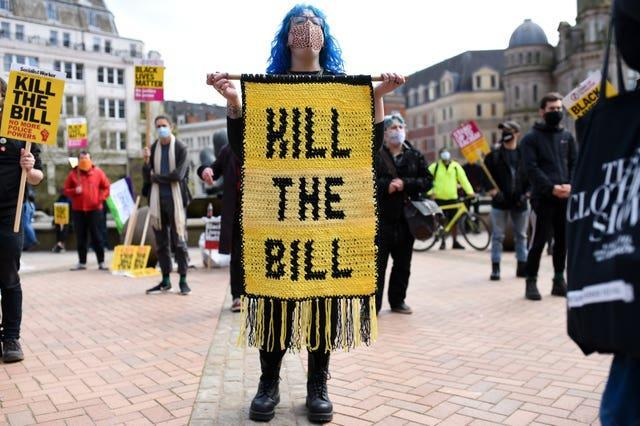 'Kill The Bill' protests
