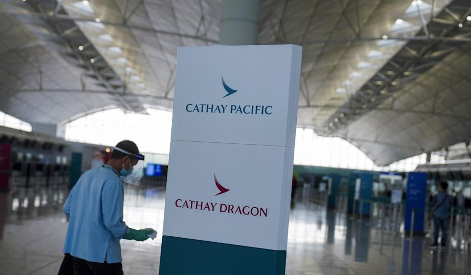 Cathay Pacific cut more than 5,000 jobs in Hong Kong alone on Wednesday, and shuttered its regional brand Cathay Dragon. Photo: Sam Tsang