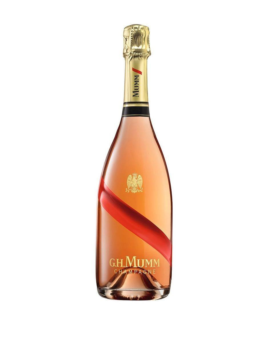 """<p><strong>G.H.Mumm</strong></p><p>reservebar.com</p><p><strong>$70.00</strong></p><p><a href=""""https://go.redirectingat.com?id=74968X1596630&url=https%3A%2F%2Fwww.reservebar.com%2Fproducts%2Fgh-mumm-grand-cordon-rose&sref=https%3A%2F%2Fwww.veranda.com%2Fluxury-lifestyle%2Fentertaining%2Fg36465407%2Frose-champagne-bottles%2F"""" rel=""""nofollow noopener"""" target=""""_blank"""" data-ylk=""""slk:Shop Now"""" class=""""link rapid-noclick-resp"""">Shop Now</a></p><p>This rosé champagne is all about enlivening your summer gatherings with rich aromas of wild black and red berries and notes of forest fruit and spice. Light, intense, and fresh, Mumm's Grand Cordon Rosé makes for a versatile food pairing.</p>"""