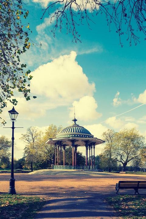 The bandstand at Clapham Common - Credit: ISTOCK