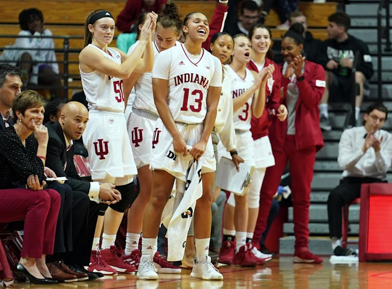 Keep an eye on Indiana, which moved up the rankings in Week 1. (Bobby Goddin/SOPA Images/LightRocket via Getty Images)