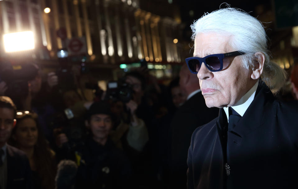 Famed Chanel designer Karl Lagerfeld has died at the age of 85 in Paris [Photo: Getty]