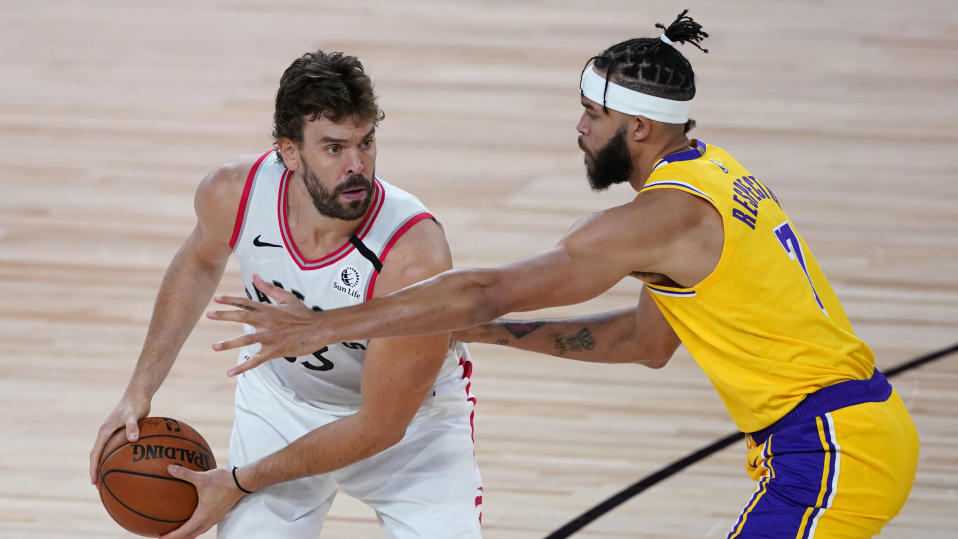 Marc Gasol has agreed to join the Los Angeles Lakers. (Photo by Ashley Landis - Pool/Getty Images)