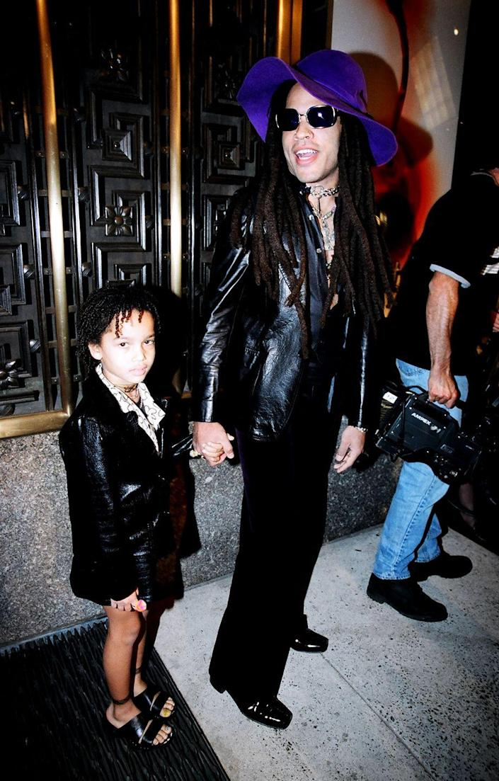 <p>Zoe Isabella Kravitz, the daughter of Lenny Kravitz and Lisa Bonet, was born on December 1, 1988. </p>