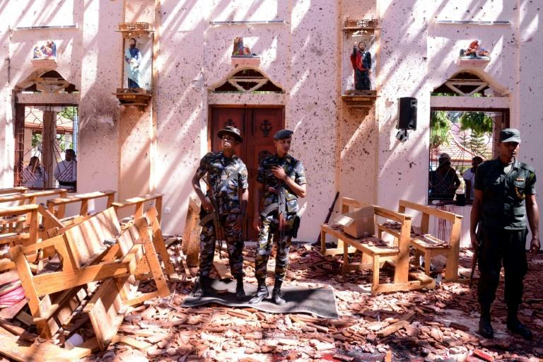 A local jihad group was blamed for the coordinated Easter Sunday attacks against three luxury hotels and three churches on April 21