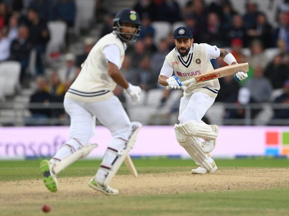 India have battled their way back into the match  (Getty)