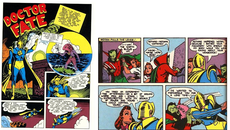 Doctor Fate was one of the most powerful heroes of the Golden Age, rivaled only by Superman and the Spectre.