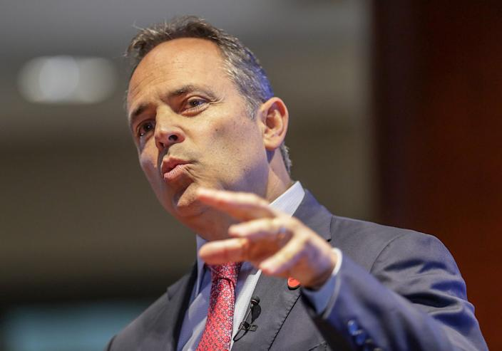 Kentucky Gov. Matt Bevin is the nation's least popular governor among his own constituents.