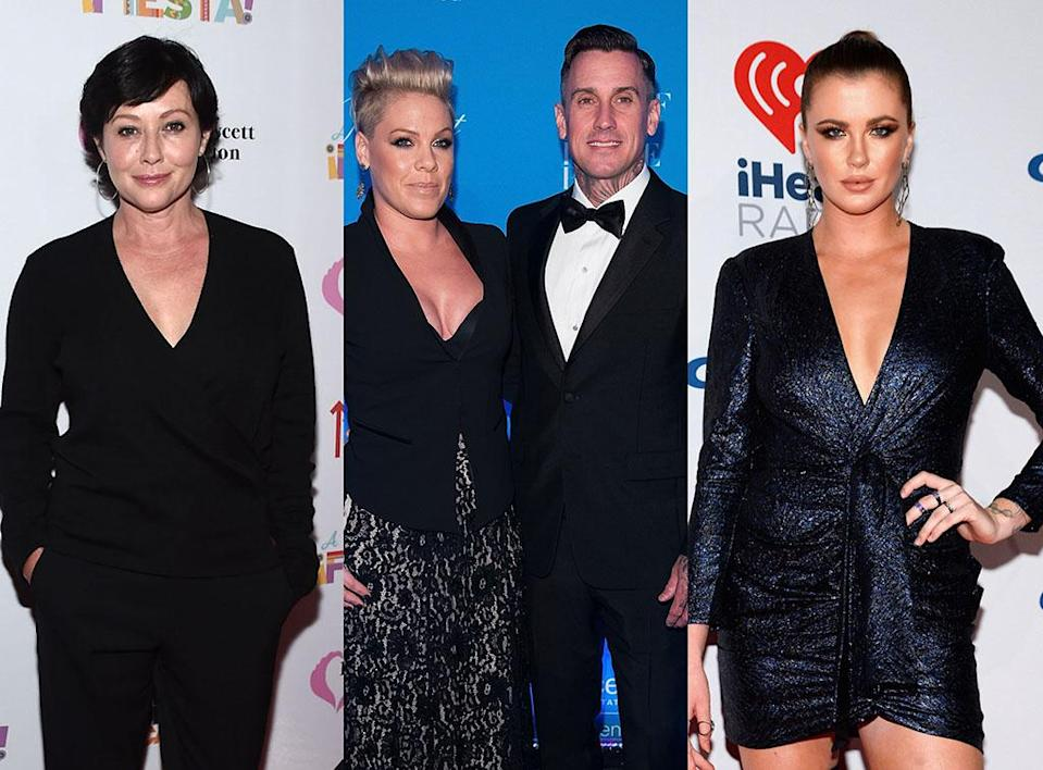 Looting is the next awful phase amid the deadly California wildfires — and Shannen Doherty, P!nk and Carey Hart, and Ireland Baldwin are all dealing with it. (Photo: Getty Images)
