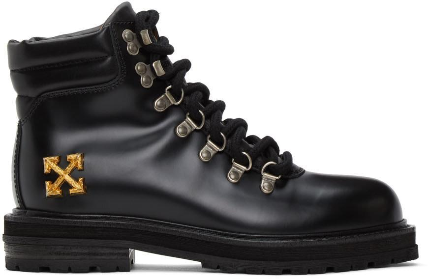 leather boots mens designer off white