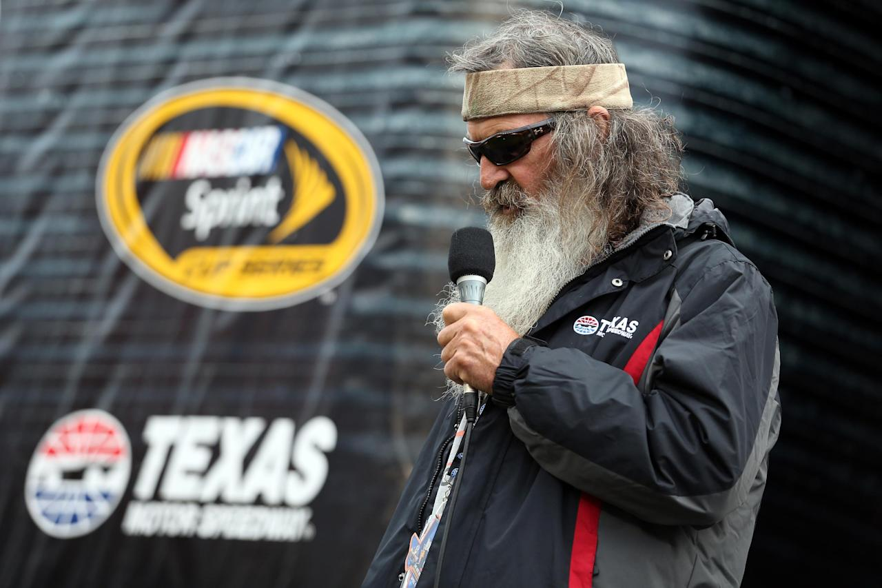 Texas pre-race prayer asks to put a 'Jesus man' in White House