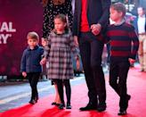 """<p>Princess Charlotte showed off her independence by <a href=""""https://people.com/royals/princess-charlotte-refuses-hold-prince-william-hand-red-carpet-theater-night/"""" rel=""""nofollow noopener"""" target=""""_blank"""" data-ylk=""""slk:letting go of her dad's hand"""" class=""""link rapid-noclick-resp"""">letting go of her dad's hand</a> to walk the red carpet solo!</p>"""