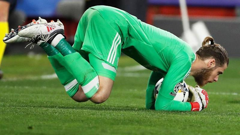 The praise is coming in thick and fast for De Gea after his performance against Seville. Pic: AAP