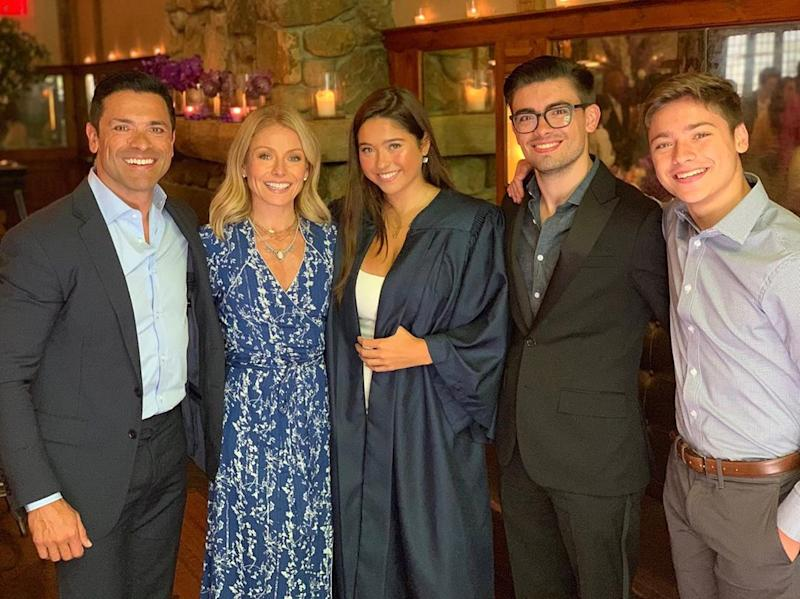 Mark Consuelos hopes that his and Kelly Ripa's kids will take care of them in the future. (Photo: Instagram)