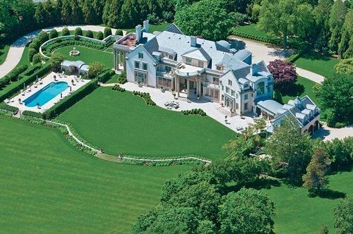 Curbed hamptons mapping the 10 largest houses for sale in for Biggest homes in the hamptons