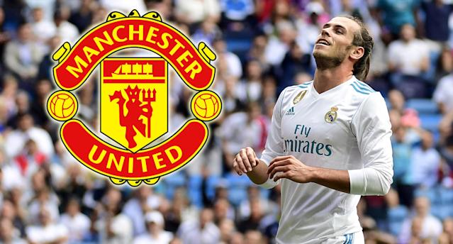 Real Madrid's Welsh forward Gareth Bale has long been admired by Manchester United
