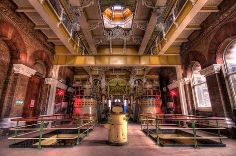 Ornate Abbey Mills Pumping Station - Credit: getty