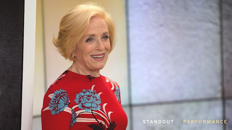 Emmys 2018: Holland Taylor Looks Forward to Sharing an Emmys Moment