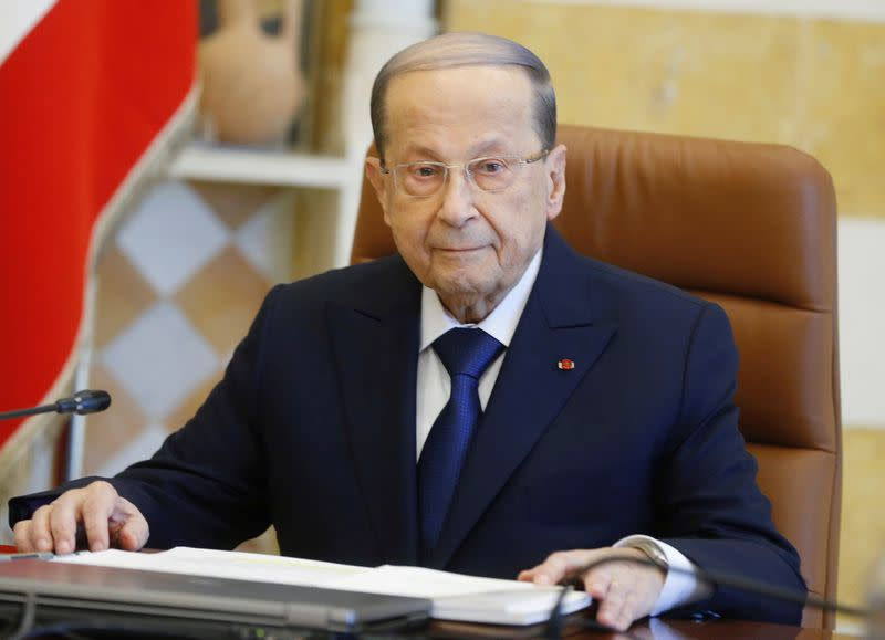 Lebanon's president urges unity after night of violence