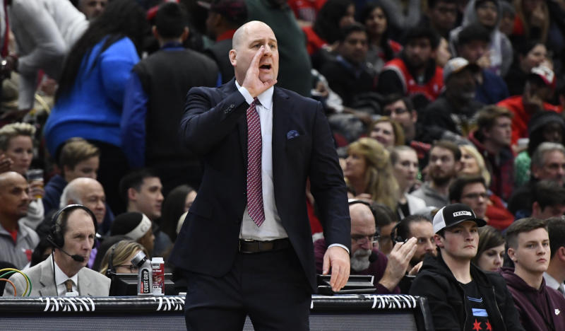 Chicago Bulls sign coach Jim Boylen contract extension through 2020